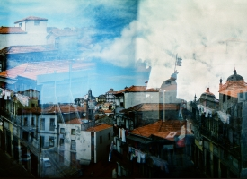 "Quintan Ana Wikswo / CATADORES: Porto Diptych Panel 2 / Archival Print on Hahnemuhle Photo Rag / 40"" x 60\"""