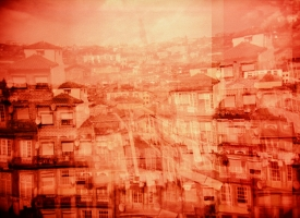 "Quintan Ana Wikswo / CATADORES: Porto Tetratych Panel 1 / Archival Print on Hahnemuhle Photo Rag / 40"" x 60\"""