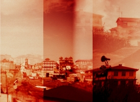 "Quintan Ana Wikswo / CATADORES: Porto Tetratych Panel 3 / Archival Print on Hahnemuhle Photo Rag / 40"" x 50\"""